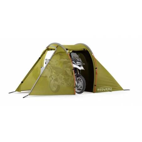 Solo Expedition Motorcycle Tent